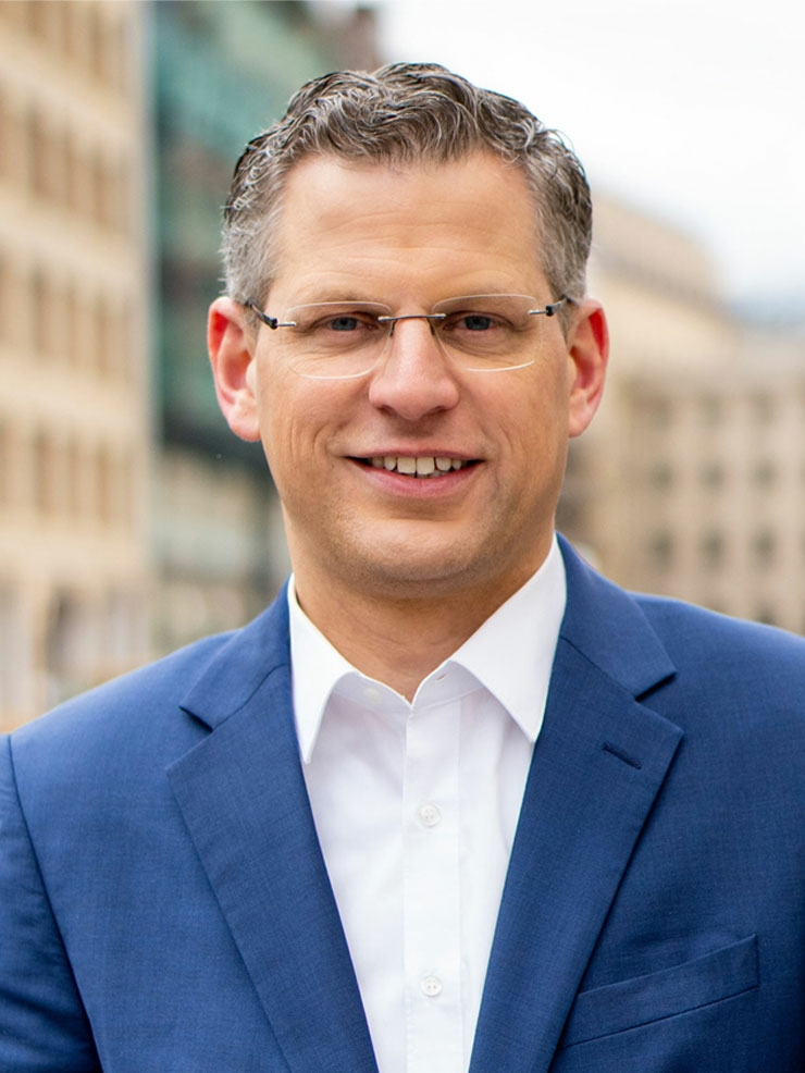 Christoph de Vries Kreisvorsitzender, MdB
