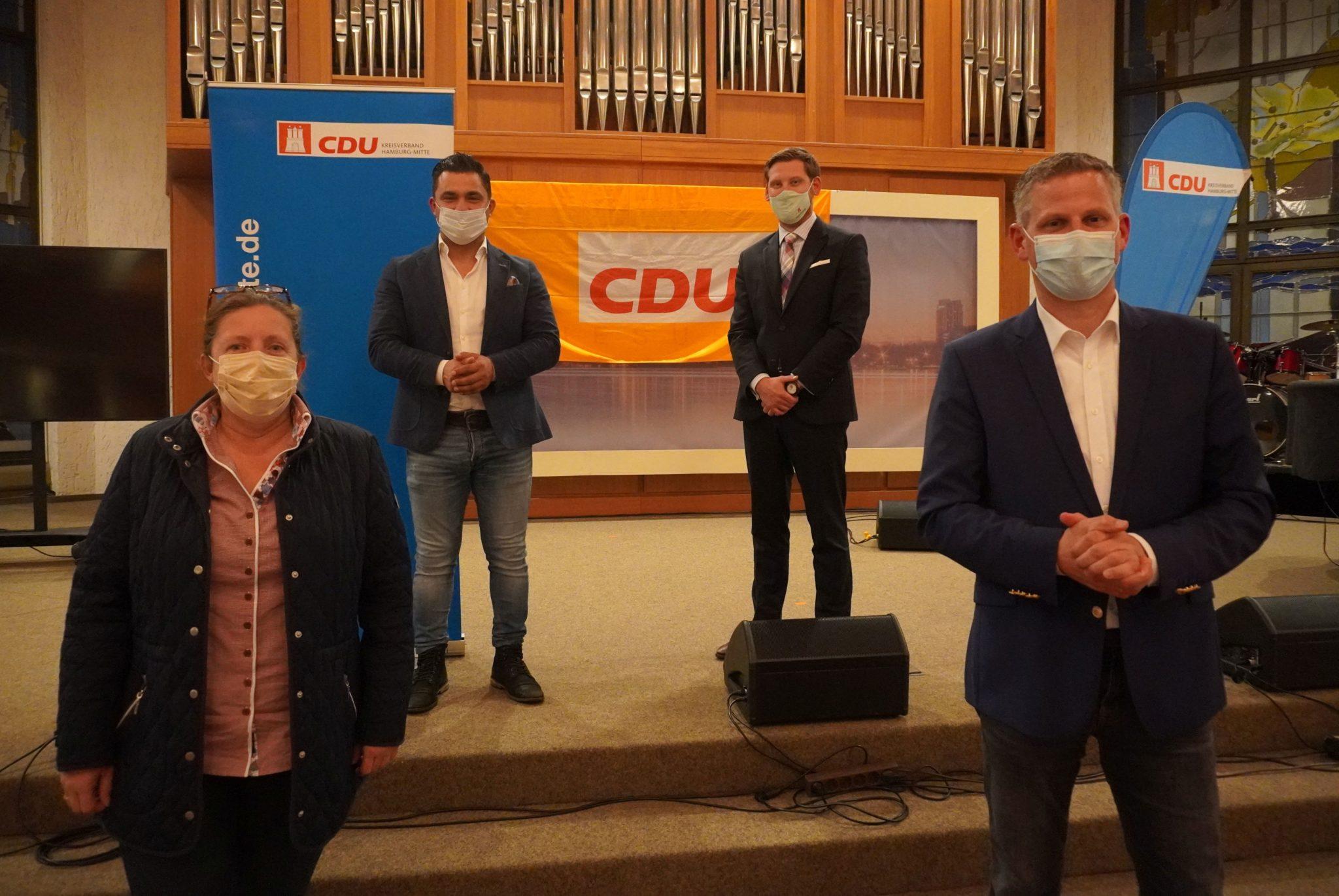 Kreisvorstand CDU Hamburg-Mitte