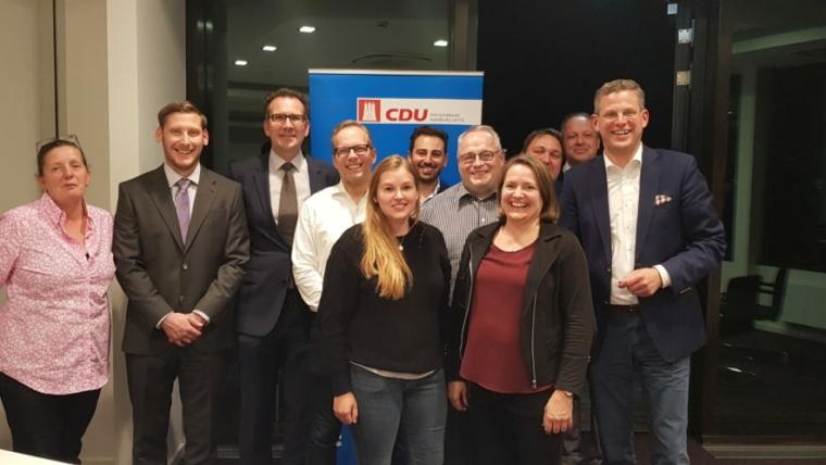 CDU Hamburg-Mitte hat Kandidatenaufstellung für die Wahlen zur Bezirksversammlung Hamburg-Mitte abgeschlossen